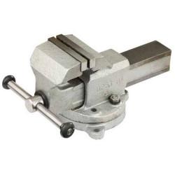 """Тиски слесарные ЗУБР """"ЭКСПЕРТ"""" (стальные, 80 мм, поворотные) / 32602-80"""
