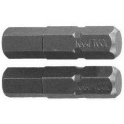"Бита KRAFTOOL X-Drive, Cr-Mo сталь S2, C1/4"", HEX5, 25 мм, 2 шт. / 26127-5-25-2"