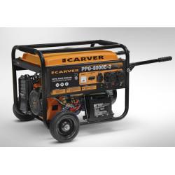 Генератор бензиновый трехфазный Carver PPG-8000E-3