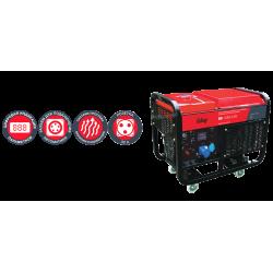 Дизельная электростанция с электростартером и коннектором автоматики FUBAG DS 11000 A ES