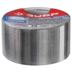 Лента металлизированная, клеящая ЗУБР (ширина - 50 мм + длина 50 м) / 12260-50-50