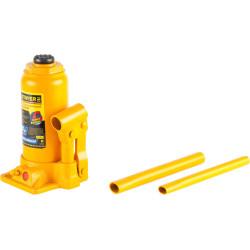 Домкрат гидравлический бутылочный STAYER RED FORCE Professional (8 тонн + высота: от 230 до 457 мм) / 43160-8