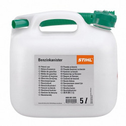 Канистра для бензина STIHL 5 л, прозрачная / 0000-881-0202