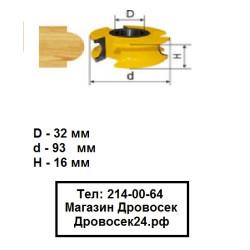 Фреза станочная полустержневая КРАТОН (93*16 мм) / 1 09 07 023