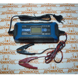 """Зарядное устройство ЗУБР """"ПРОФЕССИОНАЛ"""" (6В/12В, 4А, автомат, IP65, AGM, GEL, WET) / 59300"""
