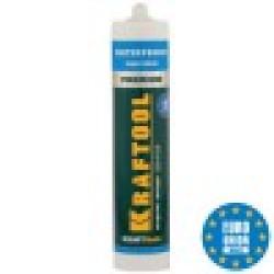 Клей монтажный KRAFTOOL KraftNails Premium KN-915, водостойкий с антисептиком, для ванн и душевых, 310 мл (Германия) / 41345