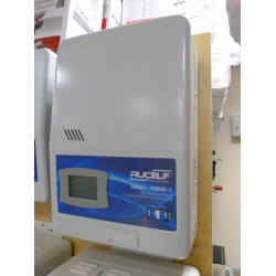 Стабилизатор напряжения цифровой  Rucelf SRWII-12000-L (12 кВт + работает от 95 В + работает от -40 гр.ц., +Производство Россия) / 12000-2