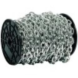 Цепь короткозвенная стальная оцинкованная, DIN 766, Ø2 мм, 200 м ЗУБР / 4-304050-02