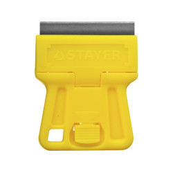 Скребок STAYER MiniPro, PROFI, тип лезвия H01, 40 мм / 08531