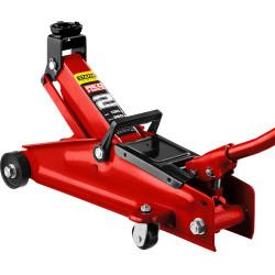 Домкрат гидравлический подкатной STAYER RED-FORCE Professional (2 тонны + высота: от 130 до 350 мм) / 43153-2