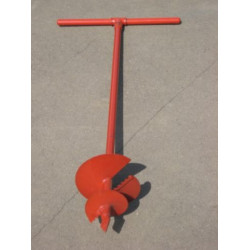 Бур садовый ручной, диаметр 160 мм + дина 1 метр / 39491-160