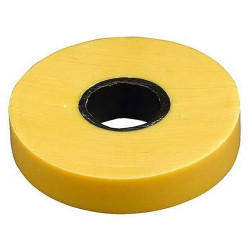 Изолента самозатухающая ПВХ ЗУБР желтая (ширина 19 мм + длина 20 м + 6000 В) / 1234-5_z01