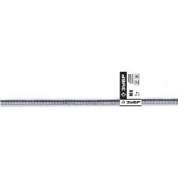 Шпилька ЗУБР резьбовая оцинкованная, DIN 975, класс прочности 4.8, М16x2000 мм, ТФ0, 1 шт. / 4-303350-16-2000