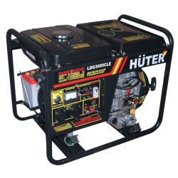 Электрогенератор дизельный Huter LDG3600CLE (2.5 кВт + электропуск)