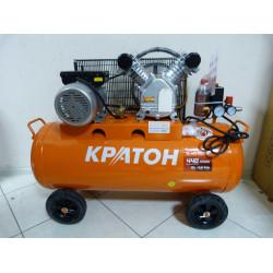 Компрессор ременной маслянный Кратон AC-440-100-BDV (2200 Вт; 100 л; 440 л/мин; 220 В) / 3 01 01 040