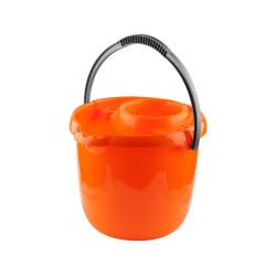 Ведро DEXX пластиковое для непищевых продуктов, с держателем МОП, 12 л / 39312