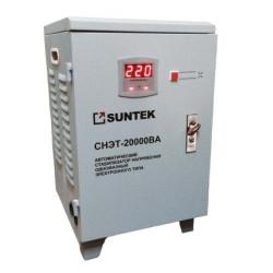 Стабилизатор напряжения морозостойкий SUNTEK 20000 ВА / SR-20000
