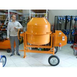 Бетоносмеситель 500 литров Строймаш СБР-500А.1 (Редукторная,1,5 кВт, Россия (380 В)) / 95459