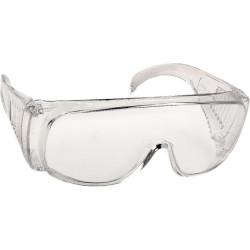 Очки DEXX защитные, поликарбонатная монолинза с боковой вентиляцией, прозрачные / 11050