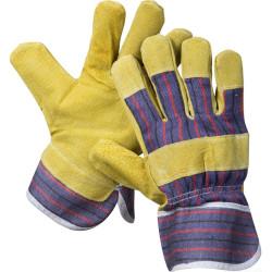 Перчатки рабочие STAYER кожаные комбинированные, MASTER, размер XL / 1131-XL