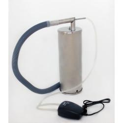 Коптильня холодного копчения «Дым Дымыч» модель 02, нержавеющая сталь (дымогенератор)
