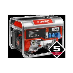Бензогенератор ЗУБР ЗЭСБ-6200 ( 8 кВт + двигатель Honda GX390)
