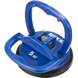 Стеклодомкрат одинарный мини DEXX, пластик, 5 кг / 33728-0