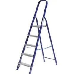 Лестница-стремянка стальная СИБИН, 5 ступеней, 103 см / 38803-05