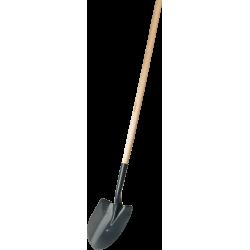 """Лопата """"МАСТЕР"""" штыковая ЛСГ для земляных работ, деревянный черенок, ЗУБР / 39575"""