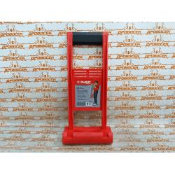 """Ручка-переноска ЗУБР """"МАСТЕР"""" для гипсокартона и стекла, для 1 ч., пластиковый корпус, с прорезиненой рукояткой, для панелей до 35мм / 37553"""
