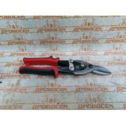 Ножницы по металлу двухрычажные ЗУБР , левые, У8А, 250 мм / 23140-L