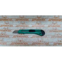 Нож DEXX с сегментированным лезвием, инструментальная сталь Ст60, пластиковый корпус, 18мм / 0909 (Индия)