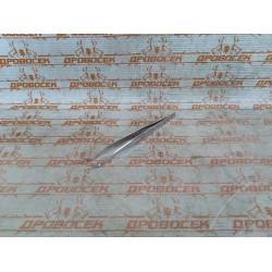 Пинцет ЗУБР изогнутый, антимагнитный, для ресниц, бровей, нержавеющая сталь, длина 160 мм / 22211-3-160