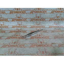 Пинцет ЗУБР изогнутый, антимагнитный,110 мм / 22211-3-110
