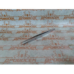 Пинцет ЗУБР прямой, антимагнитный, 140 мм / 22211-1-140