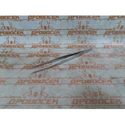 Пинцет ЗУБР прямой, антимагнитный, для бровей, ресниц (нержавеющая сталь, 165 мм) / 22211-1-160