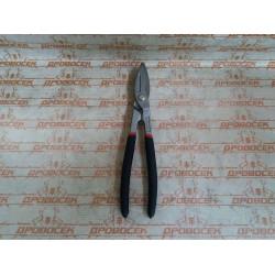 Ножницы по металлу ЗУБР, 250 мм цельнокованные, инструментальная сталь У8 / 23015-25