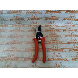 Секатор GRINDA, 210 мм, округлые лезвия, алюминиевые ручки / 8-423001