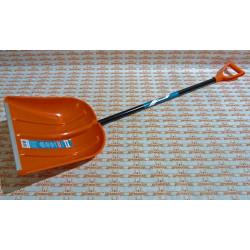 Лопата снеговая пластиковая 415х410 мм СИБИН / 421845