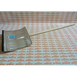 Лопата снеговая алюминиевая 430х350 мм СИБИН / 421857