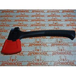 """Топорик ЗУБР туристический c фиберглассовой рукояткой, """"Премиум"""", длина 300 мм, 0.5 кг, в пластиковом чехле / 20646-05"""