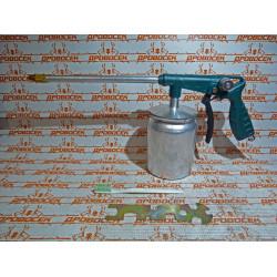 Пистолет Kraftool для нанесения антикоррозийных покрытий, с нижним бачком - 1000 мл / 06574 / Сделано в Германии