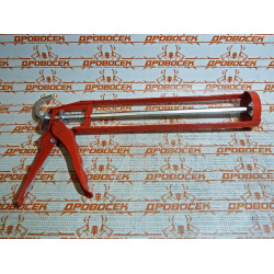 """Пистолет для герметиков скелетный ЗУБР, """"Мастер"""", 310 мл, шестигранный шток / 06630"""