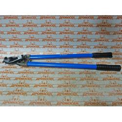 Кабелерез Зубр ЭКСПЕРТ (600 мм + кованные, сталь У8А + режет сечение до 150 мм2) / 23341-60