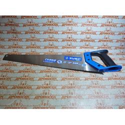 """Ножовка ЗУБР TХ950 по дереву, """"Эксперт"""", точный быстрый рез, трехгранный закаленный зуб, 500 мм, 9 TPI / 15233-50"""