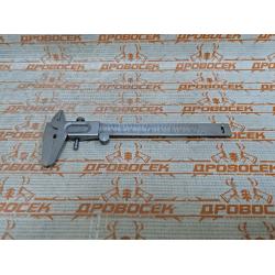 СИБИН  штангенциркуль стальной, 125 мм / 3443 (Новосибирск)