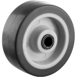 Колесо d=50 мм, г/п 40 кг, термопластич. резина/полипропилен, ЗУБР Профессионал / 30946-50