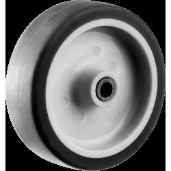 Колесо d=75 мм, г/п 60 кг, термопластич. резина/полипропилен, ЗУБР Профессионал / 30946-75