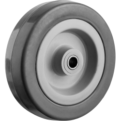 Колесо d=100 мм, г/п 65 кг, резина/полипропилен, ЗУБР / 30956-100