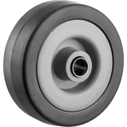 Колесо d=50 мм, г/п 35 кг, резина/полипропилен, ЗУБР / 30956-50